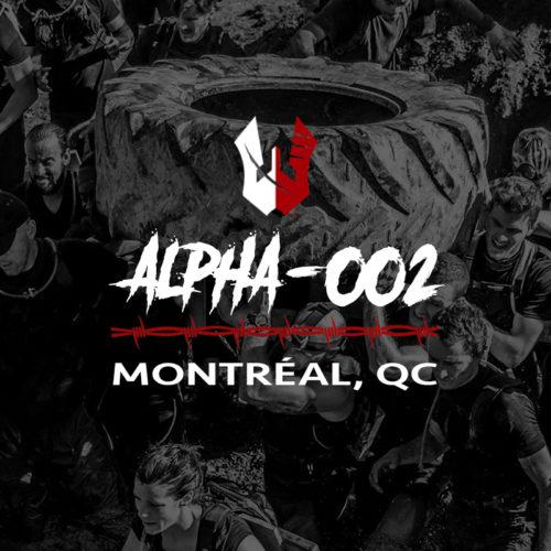Alpha-002 | Montréal, Qc